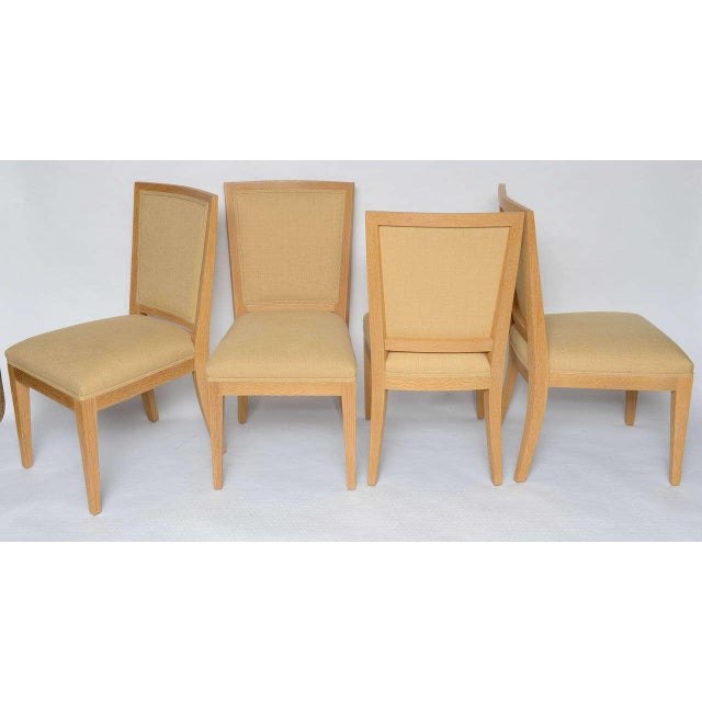 Frank Game Table and Set of 4 Chairs by Mattaliano For Sale In Miami - Image 6 of 10
