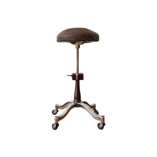 1920s Antique Medical Stool