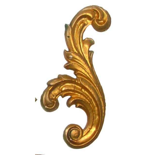 Belgian Italian Gilt Plaster Elements - Set of 6 For Sale - Image 3 of 4