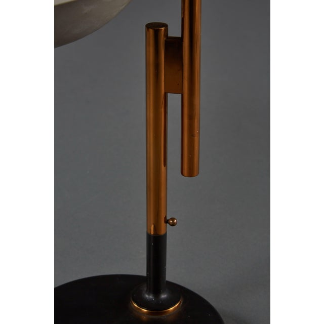 Gold Adjustable Oscar Torlasco Table Lamp for Lumi For Sale - Image 8 of 11