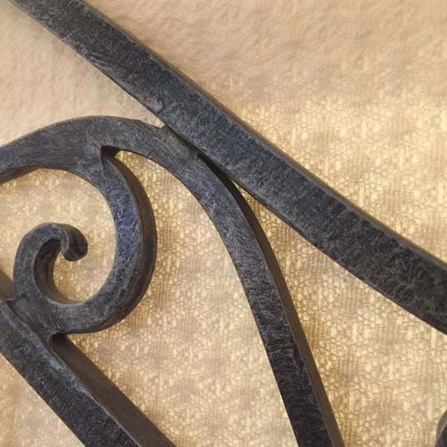 Maitland-Smith Iron Bakers Rack - Image 9 of 9