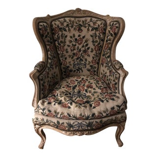 French Regency Needlepoint Chair For Sale