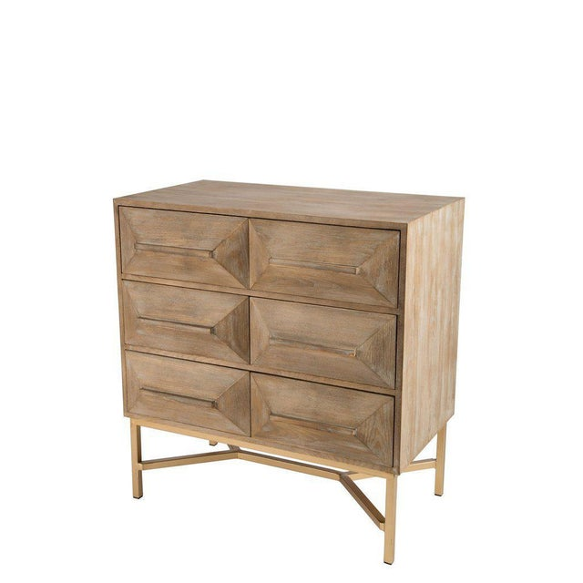 Contemporary Statements by J 6-Drawer Marais Cabinet Console For Sale - Image 3 of 4