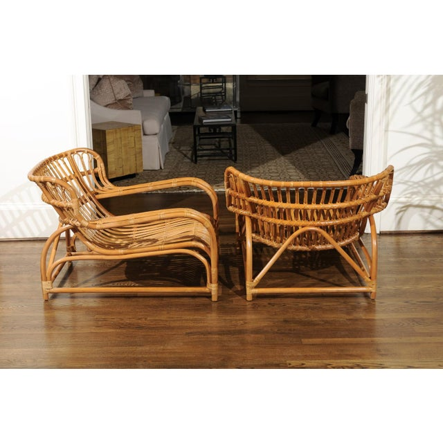 Spectacular Pair of Custom Commissioned Loungers After Viggo Boesen For Sale - Image 10 of 13