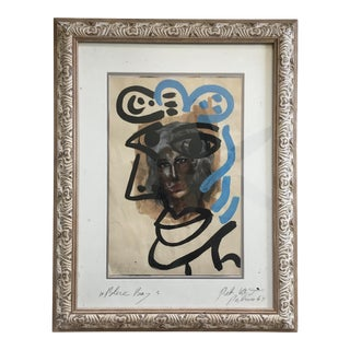"""""""Blue Boy"""" Painting by Peter Keil For Sale"""