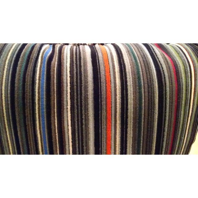 Maharam Paul Smith Epingle Stripe Pillows - A Pair - Image 5 of 6