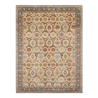 Pasargad 19th Century Tabriz Design Handmade Rug - 8' X 10' For Sale