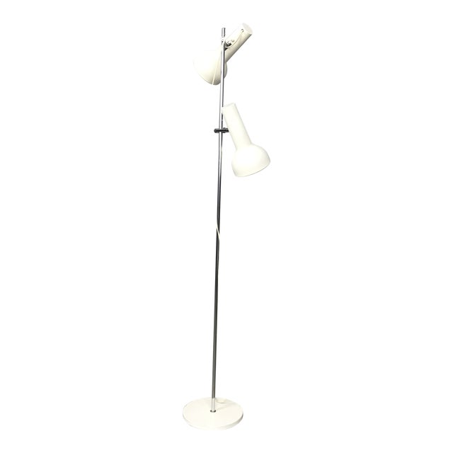 Danish Adjustable Floor Lamp For Sale