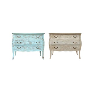 Harbin Three Drawer Chests - A Pair For Sale