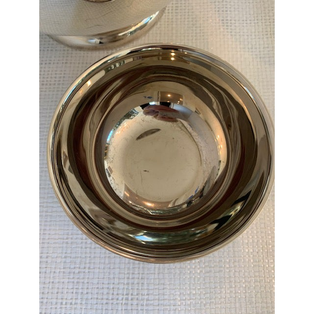 Set of 5 Silverplate Revere Bowls For Sale In New York - Image 6 of 8