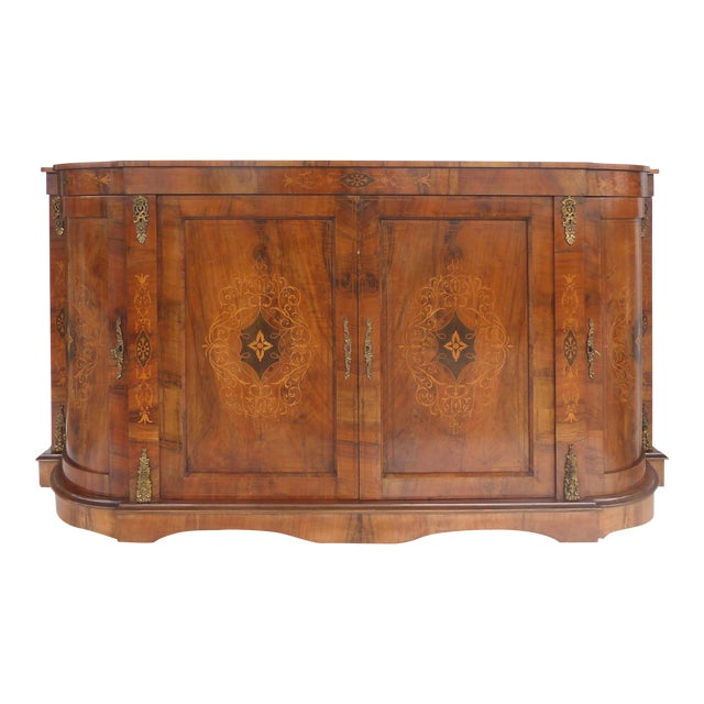Italian Inlaid & Bronze Mount Buffet - Image 1 of 11