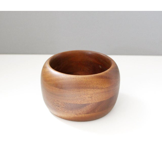 Mid-Century Vintage Teak Bowl - Image 3 of 5