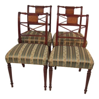 Shcmieg and Kotzian of Ny Chairs - Set of 4 For Sale