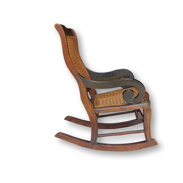 Antique Child's Rocking Chair - Image 3 of 8