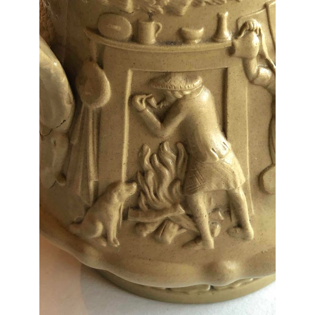 Antique Ridgway Drabware Jug For Sale - Image 9 of 12