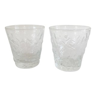 Anchor Hocking Milano Lido 7oz Flat Tumblers - Set of 2 For Sale