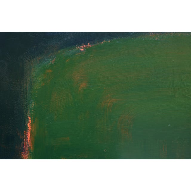 "2010s Stephen Remick ""Field Rising at Sunset"" Contemporary Abstract Painting For Sale - Image 5 of 9"