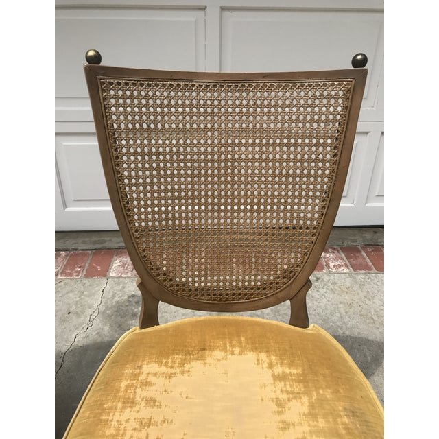 Vintage Caned Back Chairs - A Pair - Image 6 of 7