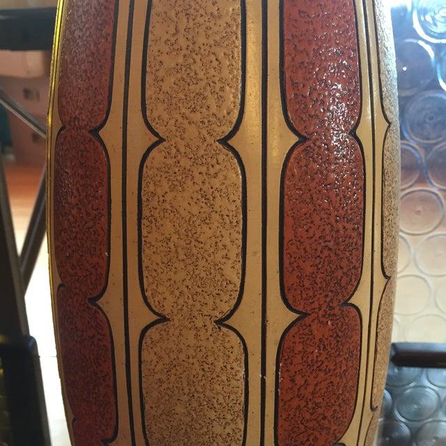 Mid-Century Ceramic Lamp - Image 5 of 8