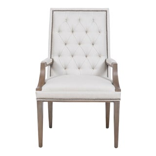 Vanguard Furniture Hanover Button-Back Arm Chair For Sale