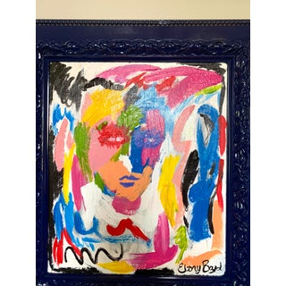 Ebony Boyd Framed Abstract Painting Preview