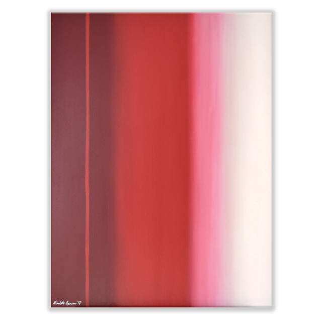 Modern Red Ombré For Sale - Image 5 of 5