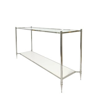 Hollywood Regency Modern History Large Aria Console For Sale