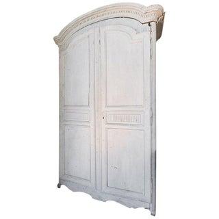 Period Louis XVl Painted Armoire