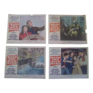 """1954 """"Reap The Wild Wind"""" Lobby Cards - Set of 8"""