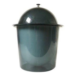 Vintage Mod Acrylic Ice Bucket For Sale
