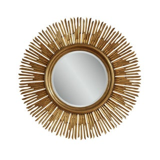 "54"" Gold Sunburst Mirror"