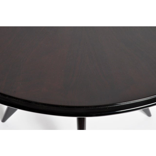 Mid-Century Veneer Top French Table For Sale - Image 10 of 11