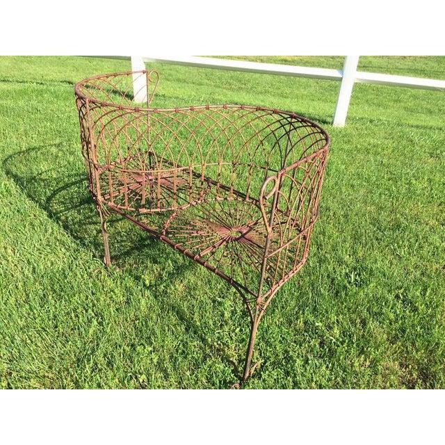 Vintage Iron Garden Tete-A-Tete For Sale - Image 9 of 9
