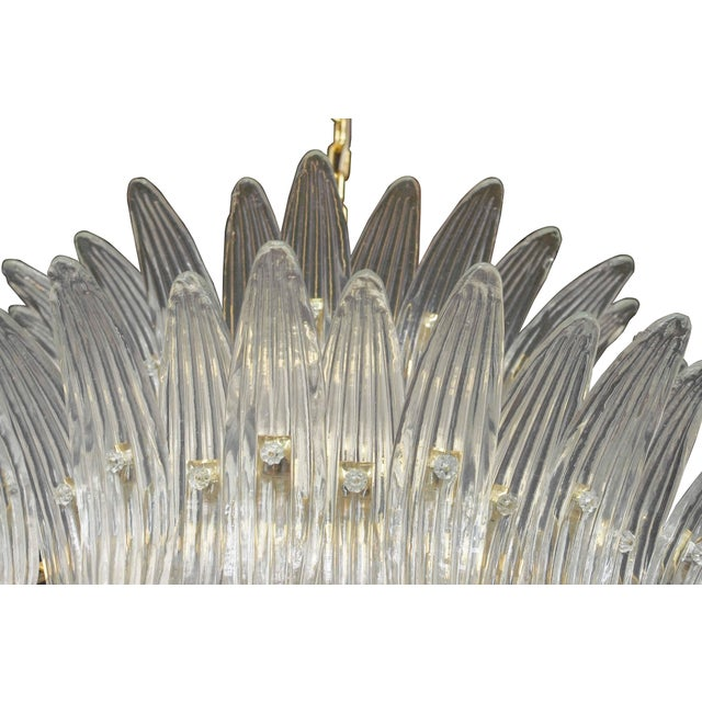 Tropicale Palmette Chandelier by Fabio Ltd For Sale In Palm Springs - Image 6 of 8