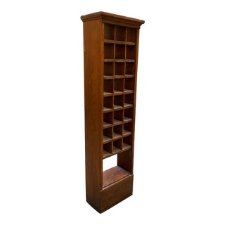 School House Cubby Hole Organizer For Sale