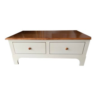 Shaker Nichols and Stone Coffee Table For Sale