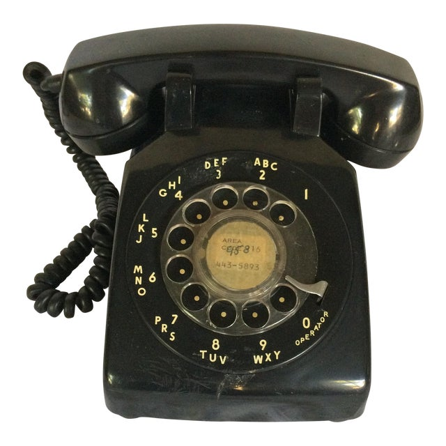 Vintage Black Western Electric Telephone - Image 1 of 11