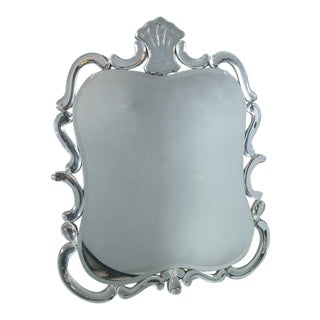 1940s Venetian Etched Mirror For Sale