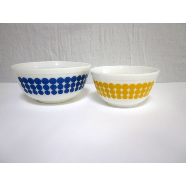 Pyrex Dots Mixing Bowls - Set of 4 - Image 6 of 7