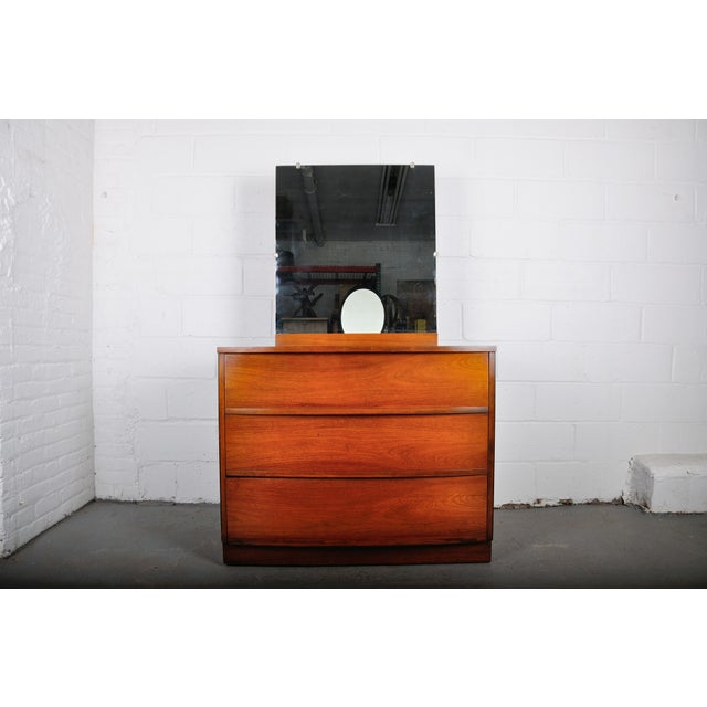 Mid-Century Modern Walnut Vanity Dresser For Sale - Image 13 of 13