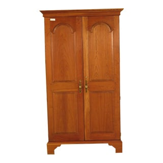 Stickley 2 Door Solid Cherry Bedroom Armoire