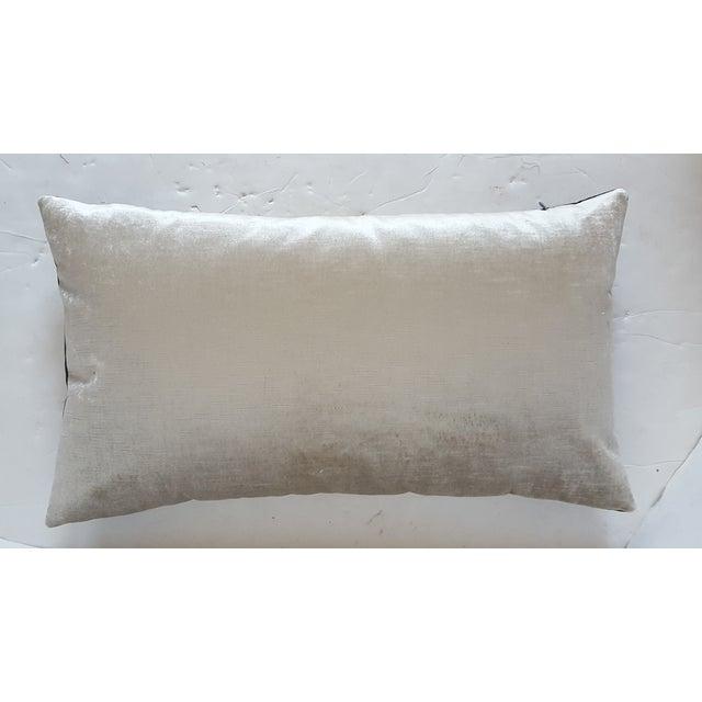 Classic Crest And Passamenterie Trim Pillow - Image 3 of 3