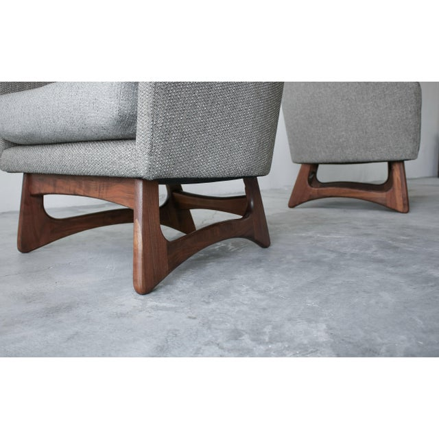 Mid-Century Lounge Chairs by Adrian Pearsall for Craft Associates - a Pair For Sale In Las Vegas - Image 6 of 7