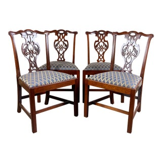 Baker Historic Charleston Collection Dining Chairs - Set of 4 For Sale