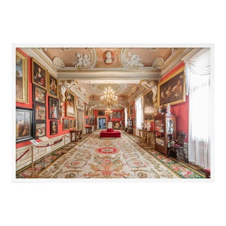 Wilanow Palace Warsaw by Richard Silver in White Framed Paper, Medium Art Print For Sale