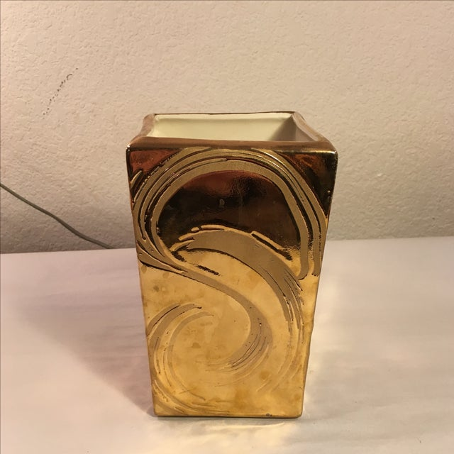 Weeping Gold Vase - Image 2 of 8