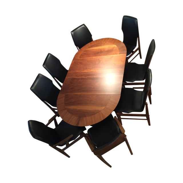 Mid Century Table & Chairs Dining Set - Image 1 of 11