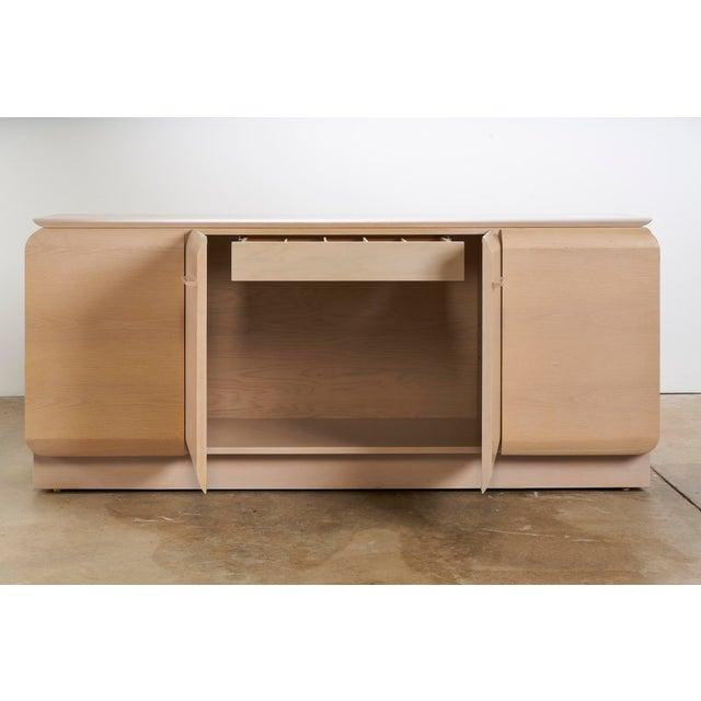 Art Deco Ello Cerused Oak Cabinet For Sale - Image 3 of 9
