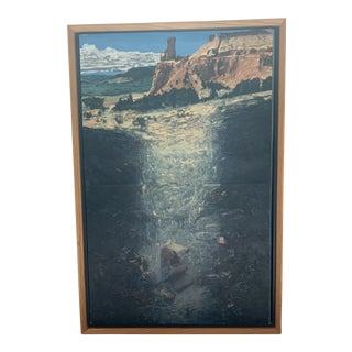 Ghost Ranch, New Mexico Oil Painting by James Woodson For Sale