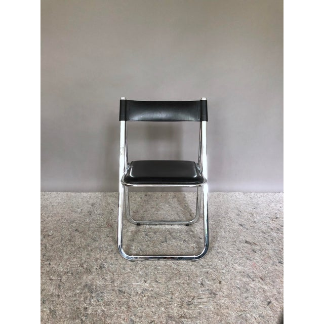 """Contemporary Arrben """"Tamara"""" Folding Chairs - Set of 6 For Sale - Image 3 of 11"""